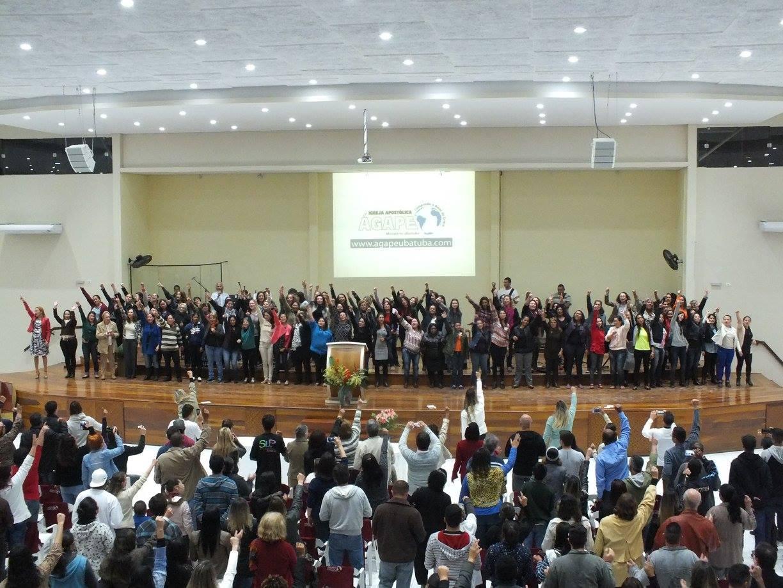 Bem-vindo(a) à Igreja Apostólica Ágape
